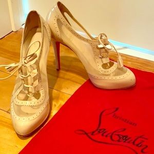 AUTHENTIC Christian Louboutin Nude Heels